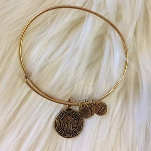Alex and Ani NYC Subway Token Bracelet